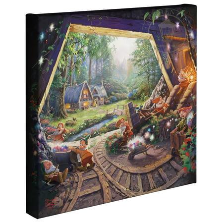Thomas Kinkade Snow White and the Seven Dwarfs - 14