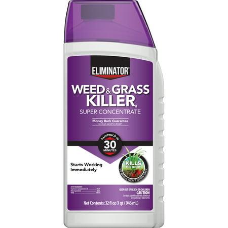 Eliminator Weed & Grass Killer Super Concentrate, 32 fl