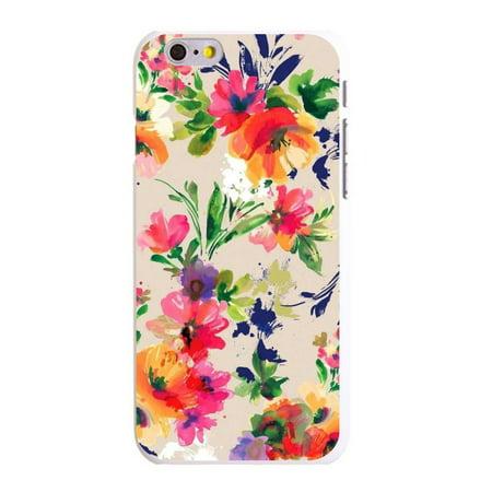 Custom Plastic Cases (CUSTOM White Hard Plastic Snap-On Case for Apple iPhone 6 / 6S (4.7