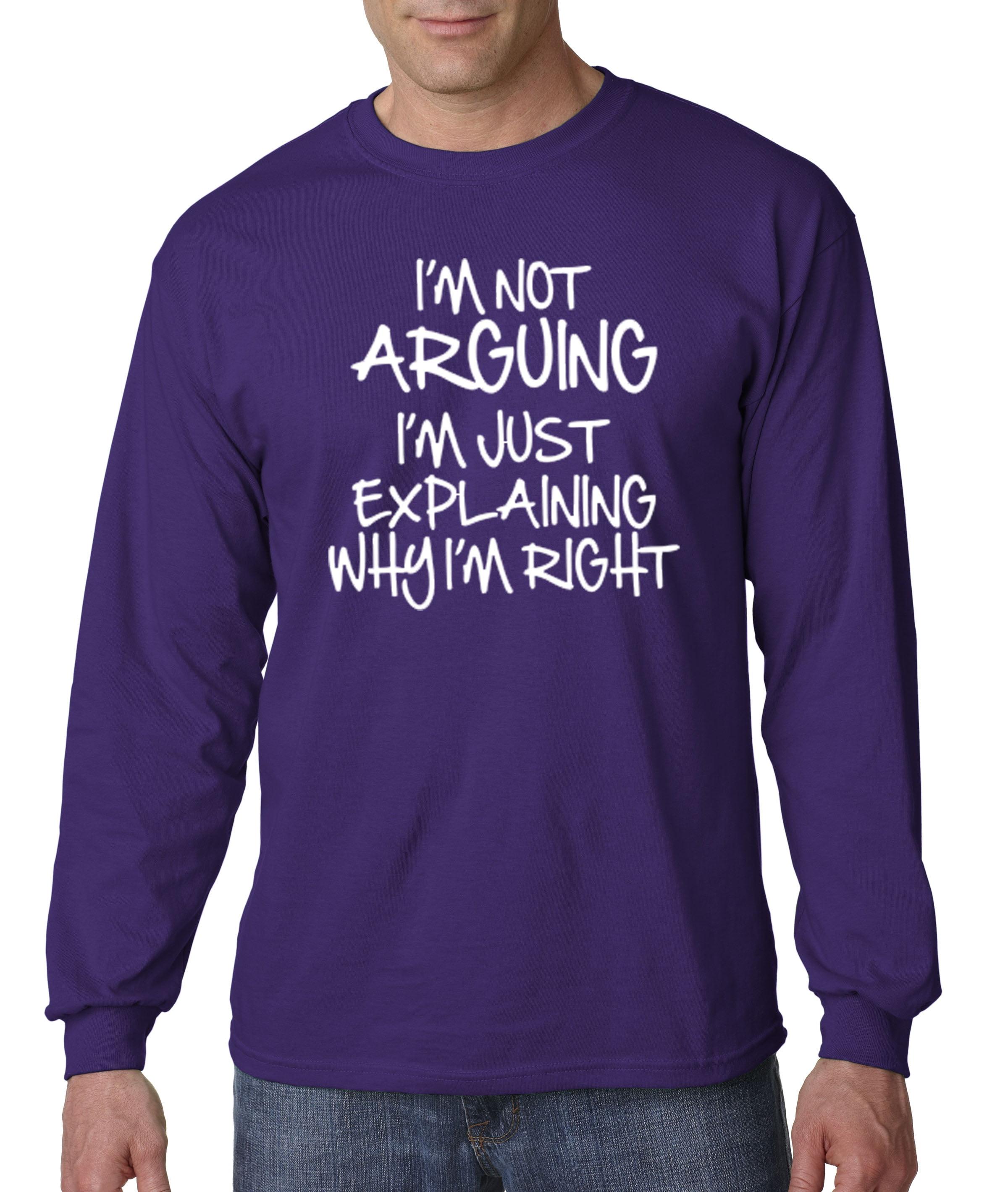 Im Not Arguing Im Just Explaining Why Im Right Cotton Long Pyjamas