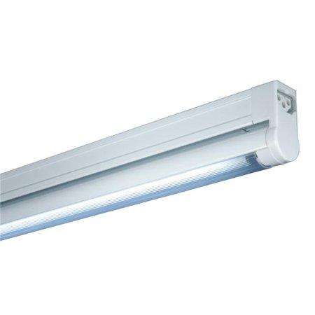 Jesco Lighting SG4-24-BK-W T4 Sleek Plus Fluorescent Undercabinet Fixture without Rocker Switch - Black & White - image 1 of 1