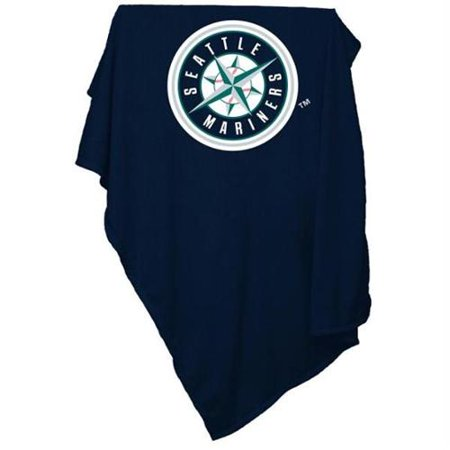 Seattle Mariners Official Sweatshirt Blanket by Logo Chair Inc. by