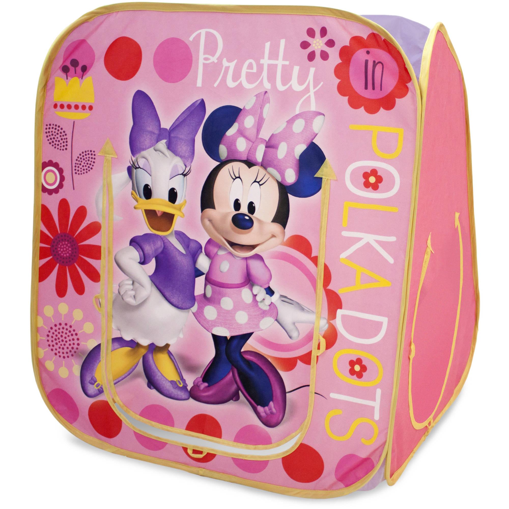Playhut Minnie Mouse Hide N Play Playhouse Pink Walmart Com Walmart Com