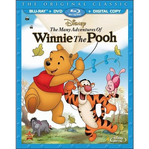 The Many Adventures Of Winnie The Pooh: Special Edition (Blu-ray   DVD   Digital Copy) (Anamorphic Widescreen)