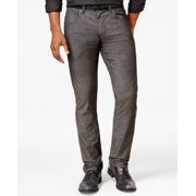 INC NEW Solid Charcoal Gray Mens Size 38X30 Relaxed Fit Chinos Pants