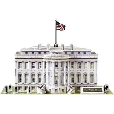 The White House 3d Puzzle 80 Pieces