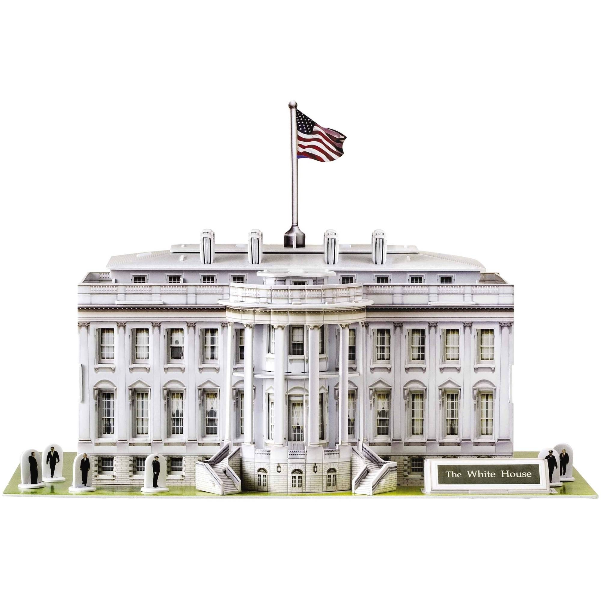 The White House 3D Puzzle, 80 Pieces