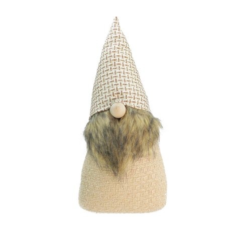 """16"""" Natural Decorative Christmas Gnome Tabletop Figure - image 2 of 2"""