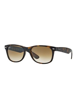 Ray-Ban Men's New Wayfarer RB2132-875-52 Black Wayfarer Sunglasses