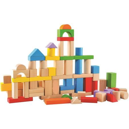 80-Piece Wood Block Set