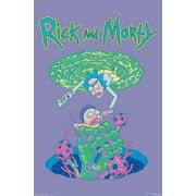 Rick And Morty - Portal Fall Poster