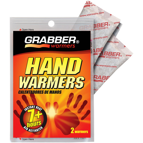 Grabber Hand Warmers, Box of 40 pairs