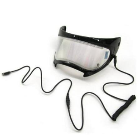 Arctic Cat New OEM Snowmobile Heated Electric Full Face Visor/Shield TXI Helmet (Full Face Snowmobile Helmet)