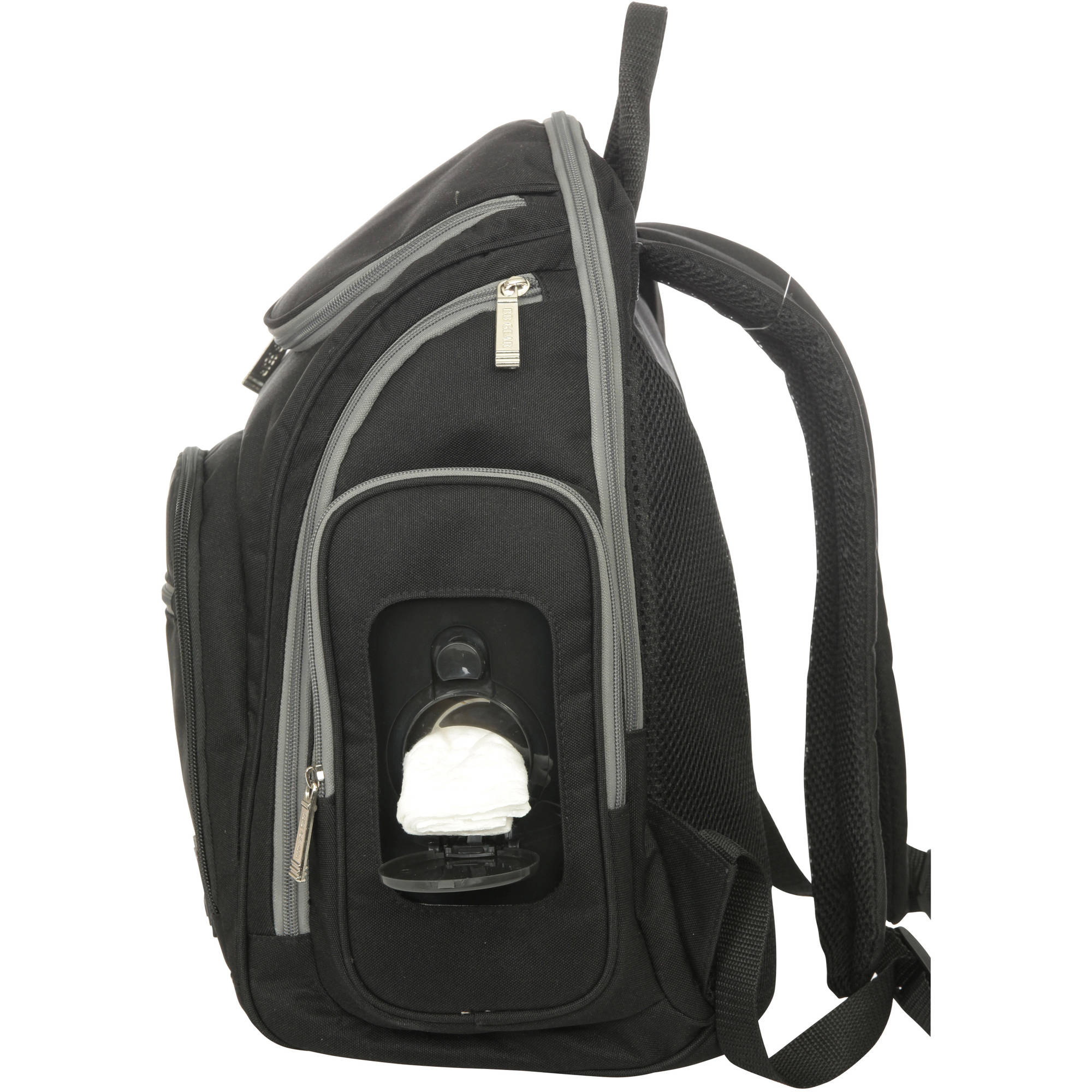 d955fab4454848 BB Gear Places and Spaces Back Pack Diaper Bag - Walmart.com