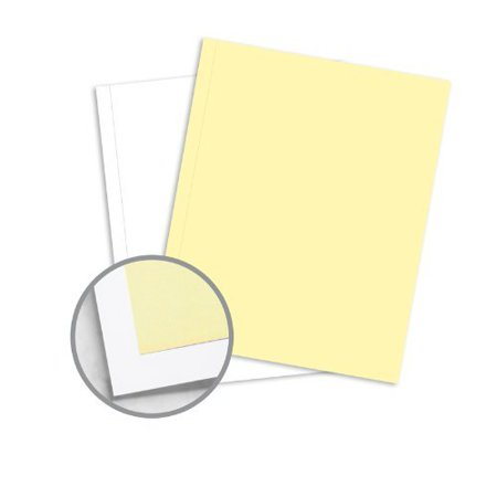 NCR Paper* Brand Superior Perf Multi-Colored Carbonless Paper - 9 x 11 in  20 5 lb Writing Precollated 2-Part RS Canary, White Perforated on Side 500