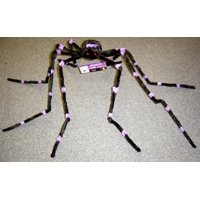"""90"""" Poseable Hairy Spider"""