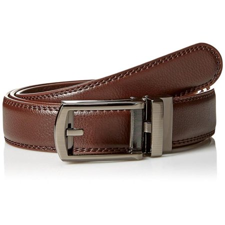 Comfort Click Men's Adjustable Belt, Brown
