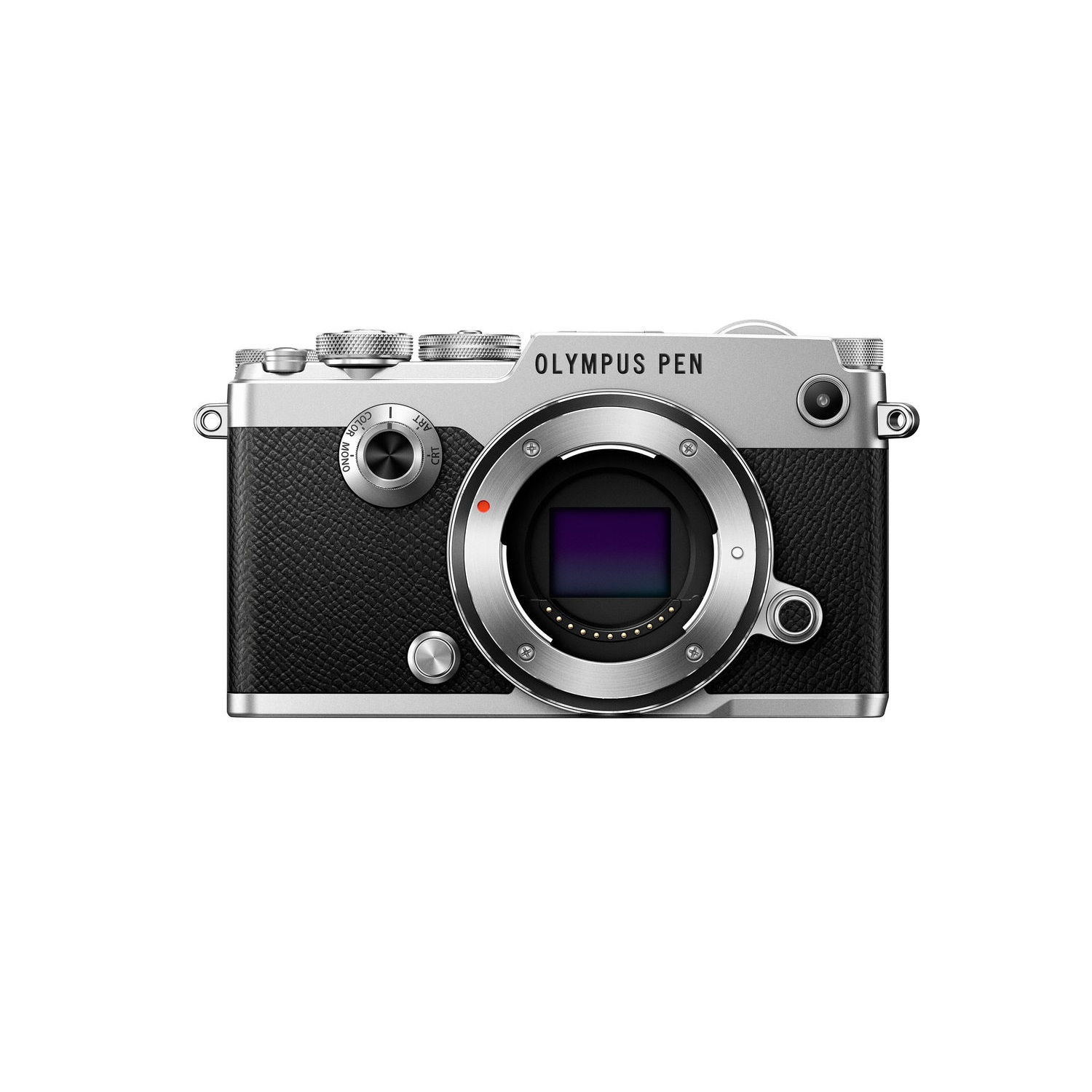 Olympus PEN-F 20.3 Megapixel Camera (Body Only), Silver by Olympus