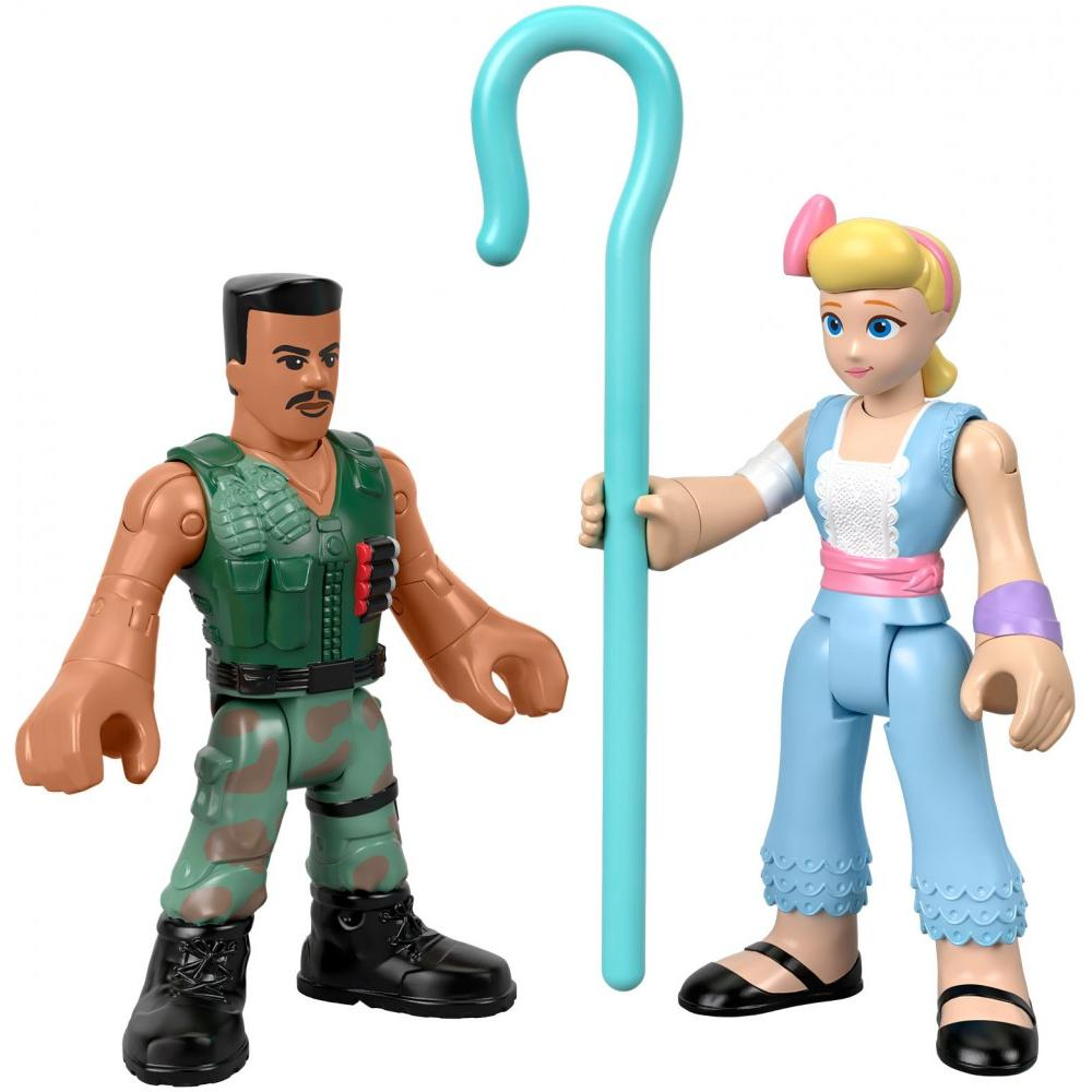 Imaginext - Disney Pixar Toy Story Combat Carl & Bo Peep Figure Set