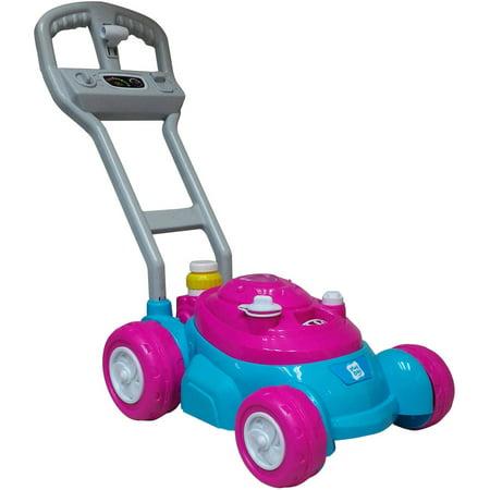 Push N Bubble Mower Pink Walmart Com