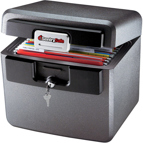 SentrySafe Fire and Waterproof Fire File HD4100  sc 1 st  Walmart : file safe box - Aboutintivar.Com