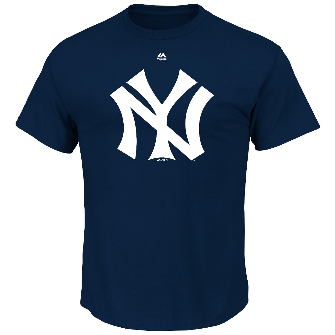 "New York Yankees Majestic MLB ""Official Logo"" Cooperstown Men's S/S T-Shirt"