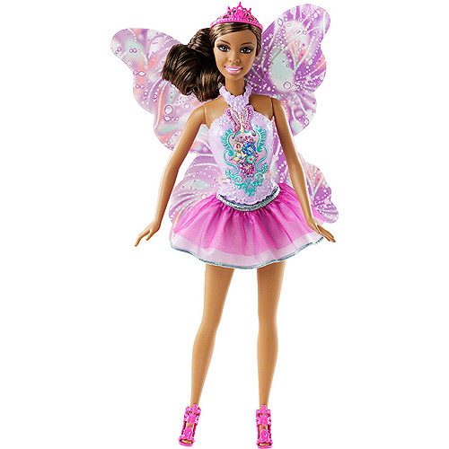 Barbie Fashion Mix and Match Fairy Princess Doll, African American by Mattel