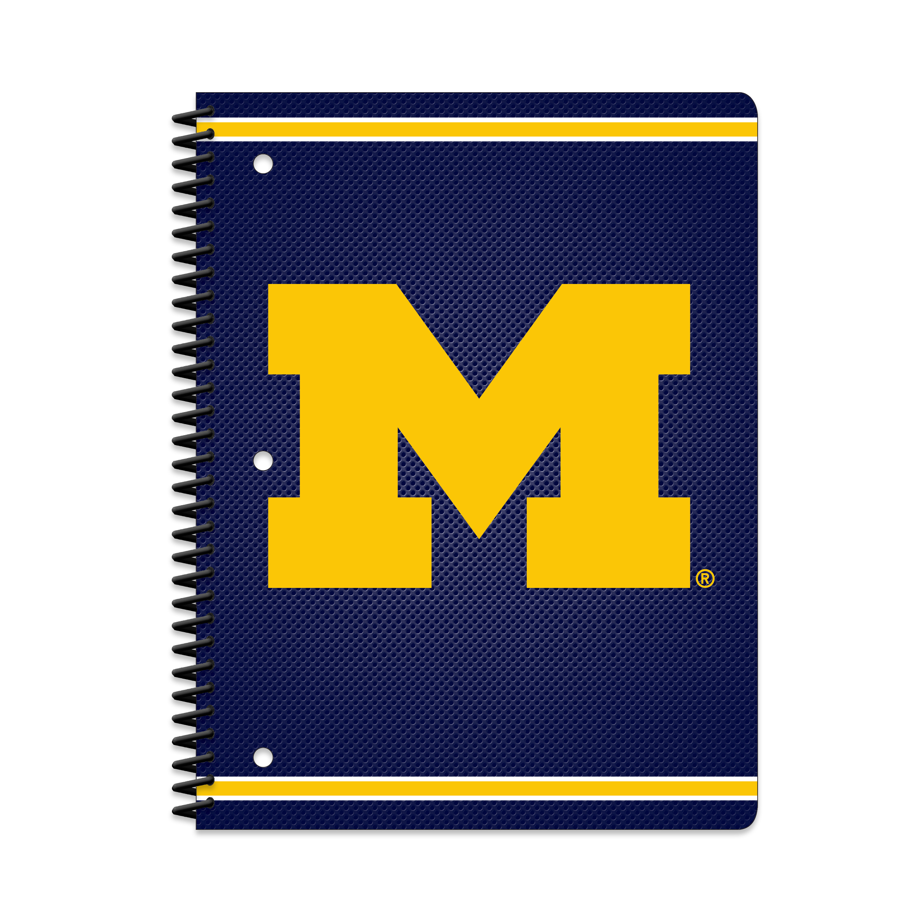 MICHIGAN WOLVERINES CLASSIC 1-SUBJECT NOTEBOOK