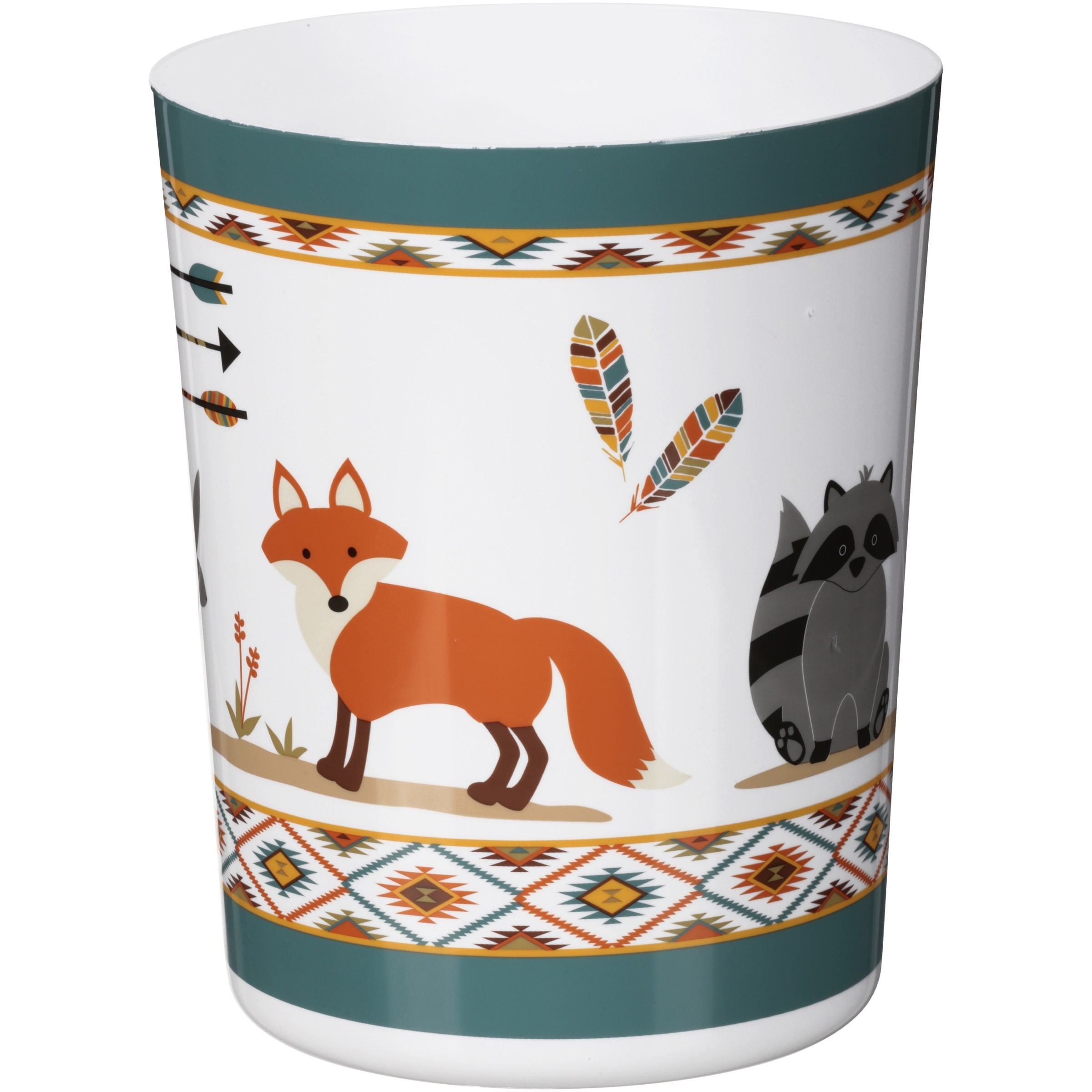 Mainstays™ Kids Woodland Creatures Waste Basket