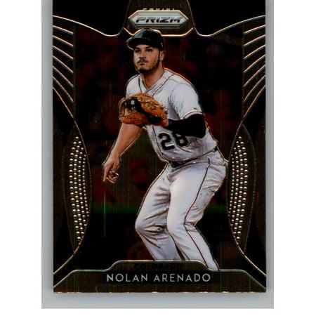 2019 Panini Prizm 157 Nolan Arenado Colorado Rockies Baseball Card
