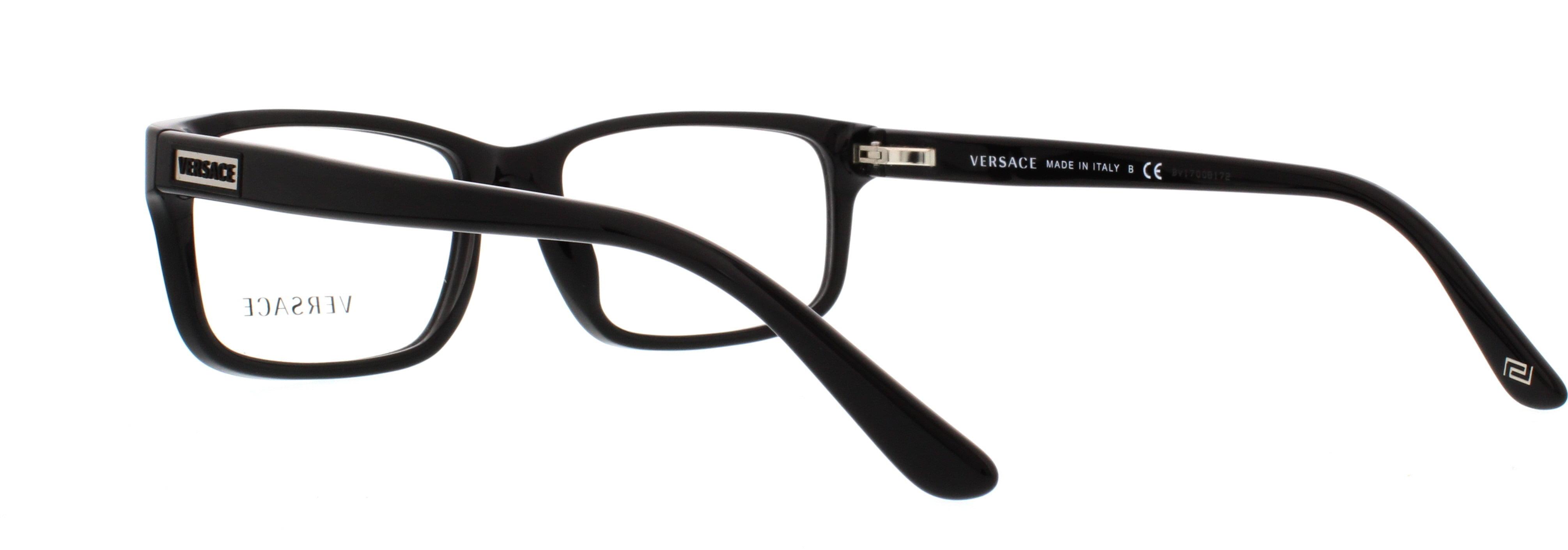 79fdf2c48d2 VERSACE Eyeglasses VE3154 GB1 Black 54MM - Walmart.com