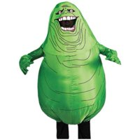 Inflatable Slimer Adult Halloween Costume (One Size)