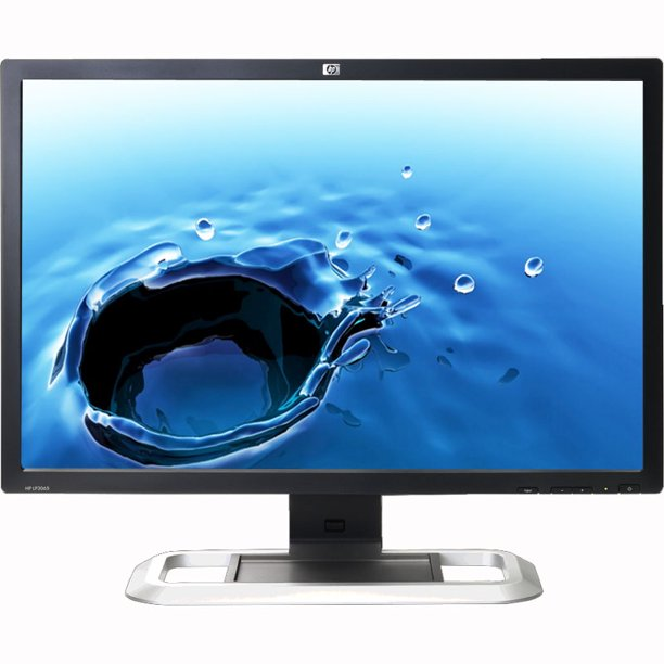 Refurbished Hp Lp3065 2560 X 1600 Resolution 30 Widescreen Lcd Flat Panel Computer Monitor Display Walmart Com Walmart Com