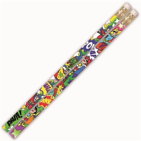 Musgrave Pencil MUS2539DBN Super Duper Heroes Pencils - 12 Dozen - 12 per - Super Mario Pencils