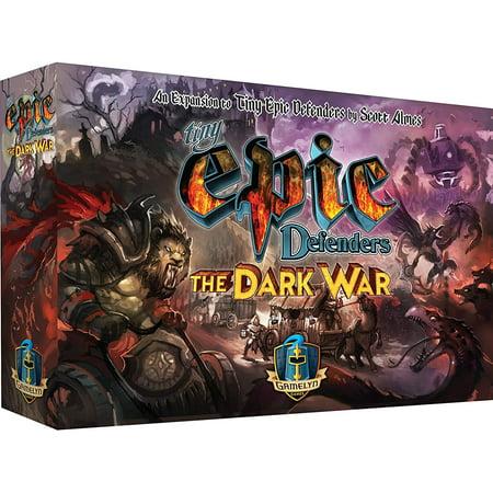 Tiny Epic Defenders Dark War The Fantasy Cooperative - The Dark Games