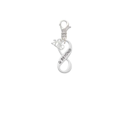 & Beyond Infinity Sign - 2019 Clip on Charm