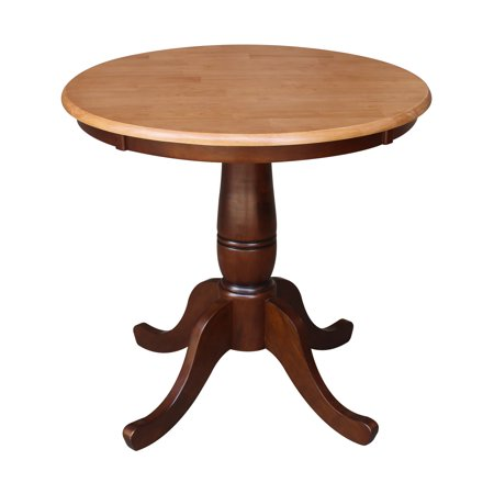 International Concepts Oakdale 30 in. Round Top Pedestal Dining Table ()