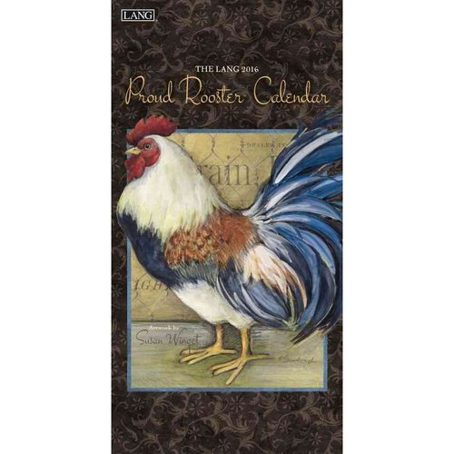 The Lang 2016 Proud Rooster Calendar