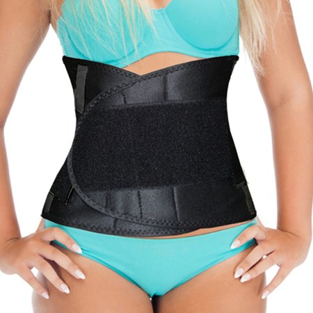 Waist Trainer Body Shaper Belly Wrap Belt Reduce Back Pain For