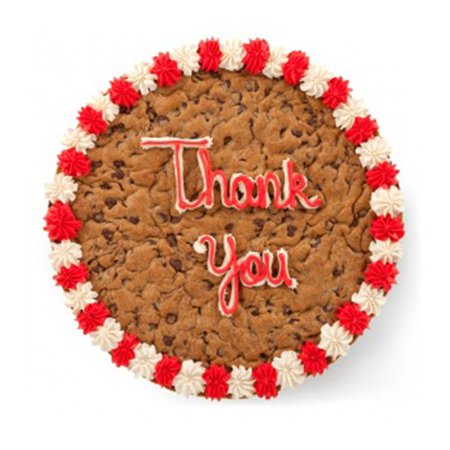Mrs Fieldsreg Thank You Cookie Cake