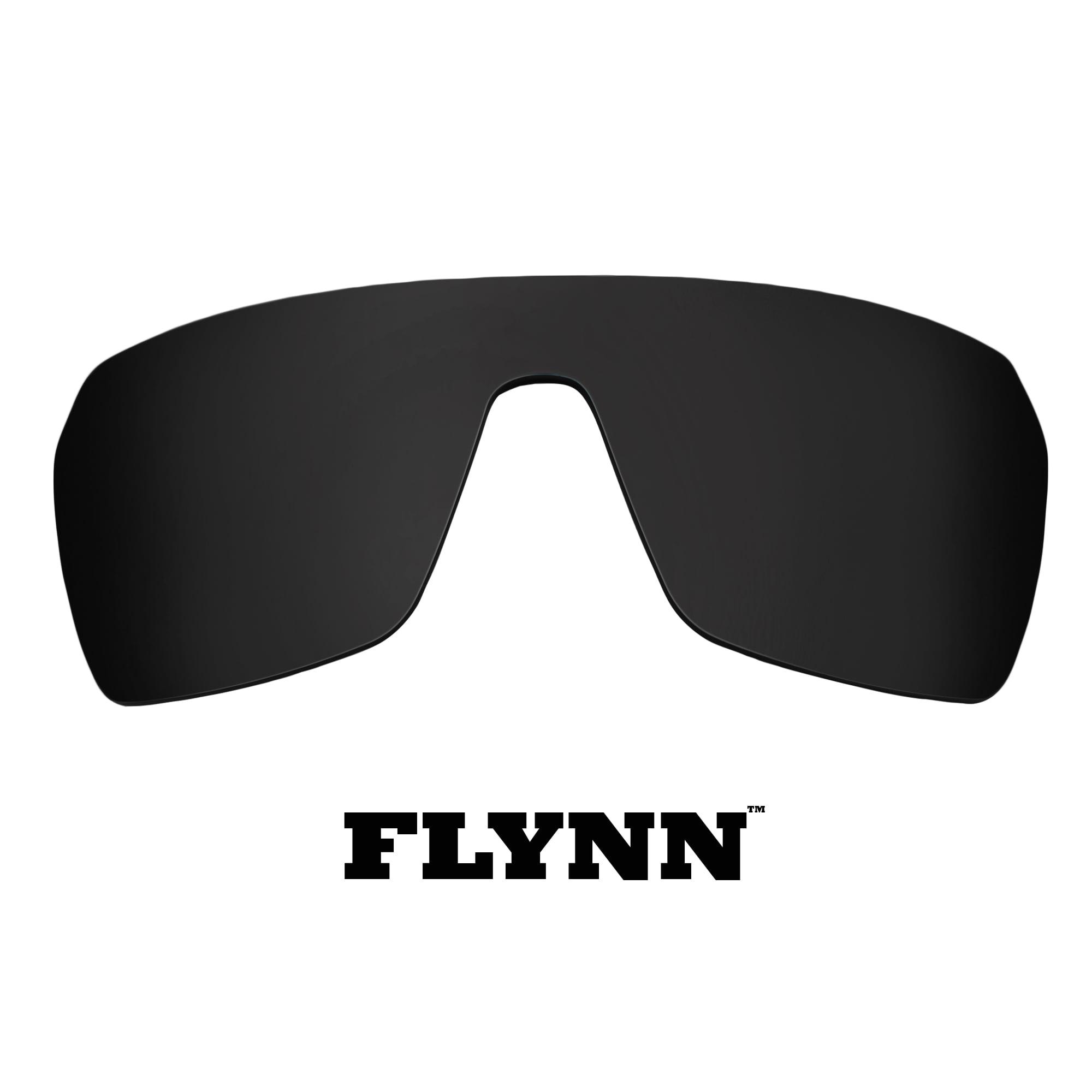 Polarized Replacement Lenses for SPY OPTICS Flynn Sunglasses Anti-Scratch Black