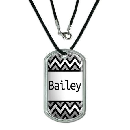Male Names - Bailey - Dog Tag