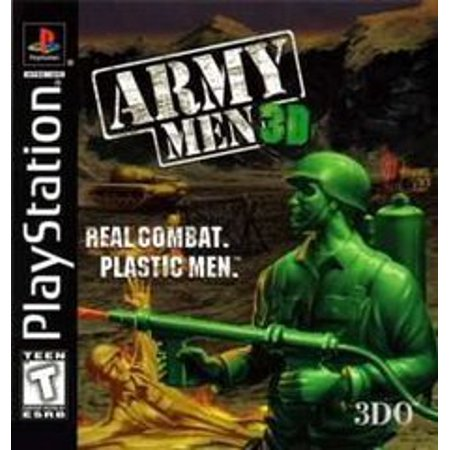 Army Men 3D - Playstation PS1 (Refurbished) (X Men Children Of The Atom Psx)