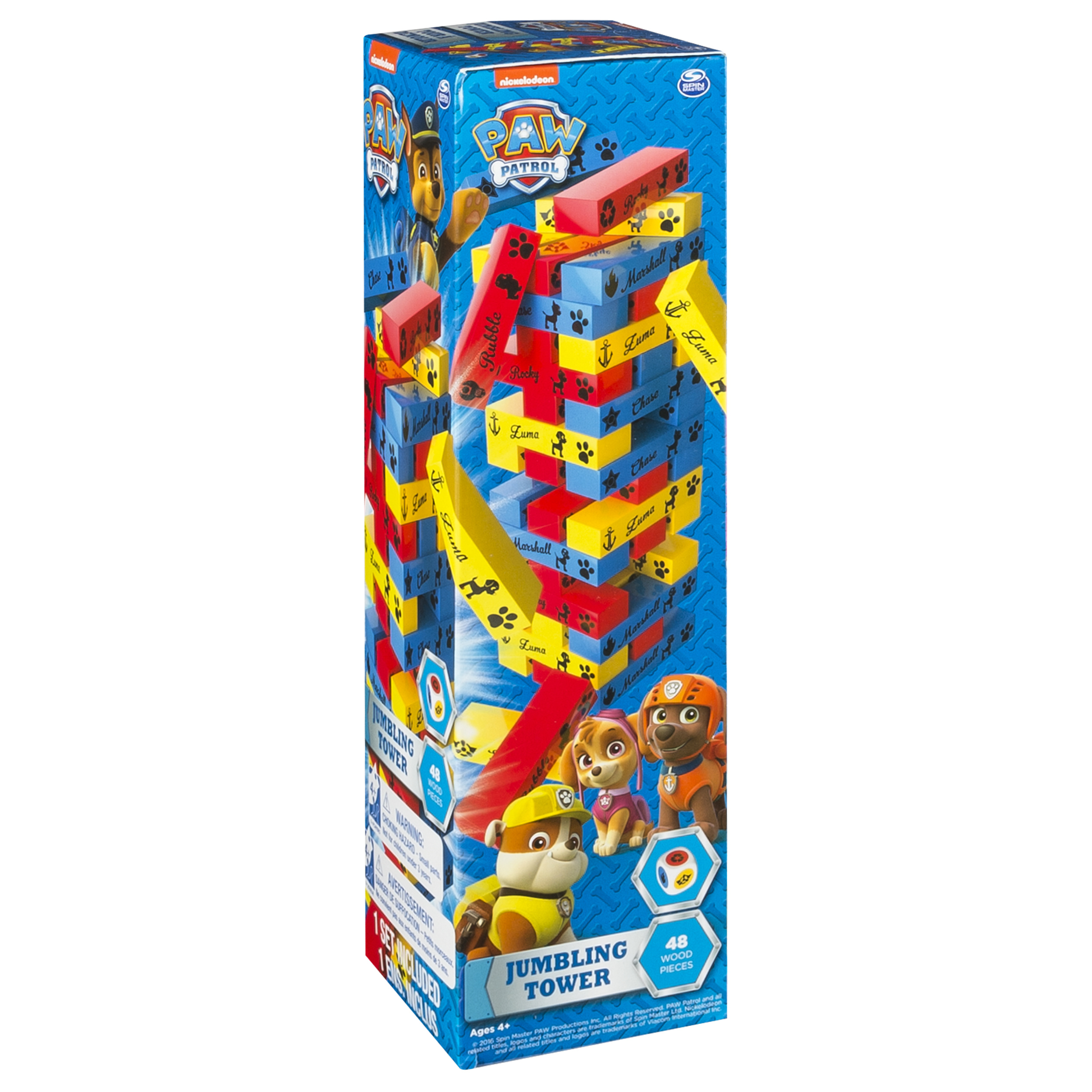 Nickelodeon's Paw Patrol - Jumbling Tower Game