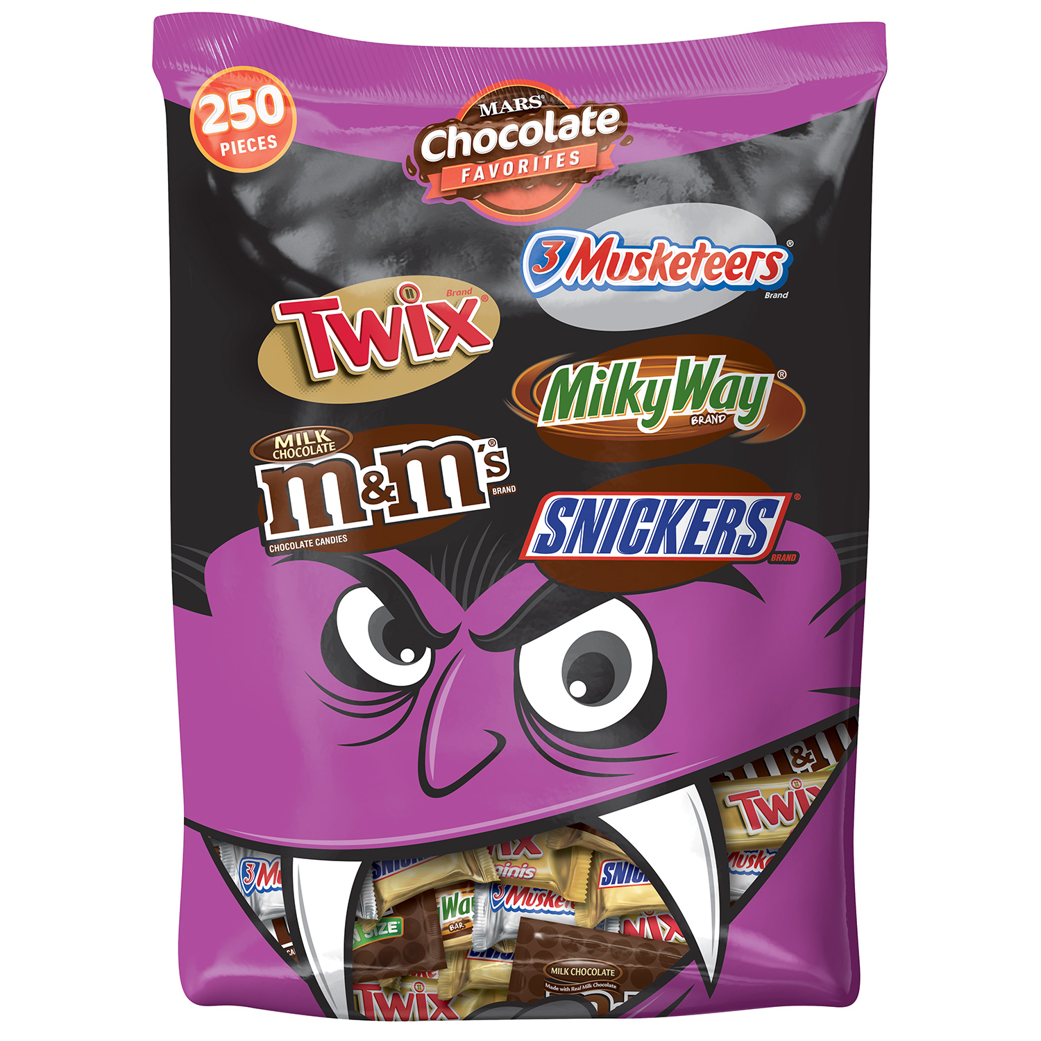 MARS Chocolate Favorites Halloween Candy Bars Variety Assorted Mix Bag (TWIX, MILKY WAY,... by MARS, INC.