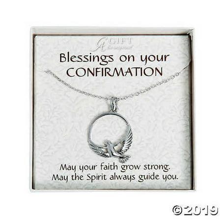 Confirmation Dove Pendant Necklace