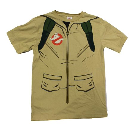 Adult's Ghostbusters Shirt With Inflatable Proton Gun Costume - 40 Costume