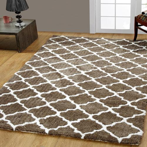 Affinity Home Collection Casa Platino Soft Cozy Ultimate Shag Rugs (5' x 8')
