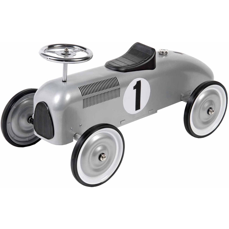 Silver Foot-to-Floor Racer