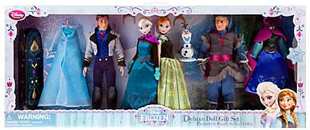 Disney Frozen Deluxe Doll Gift Set Exclusive 12 by